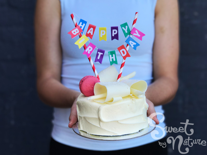 Enjoyable Cake Bunting Happy Birthday Sweet By Nature Personalised Birthday Cards Paralily Jamesorg