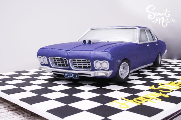 Novelty Classic Car Holden Statesman cake