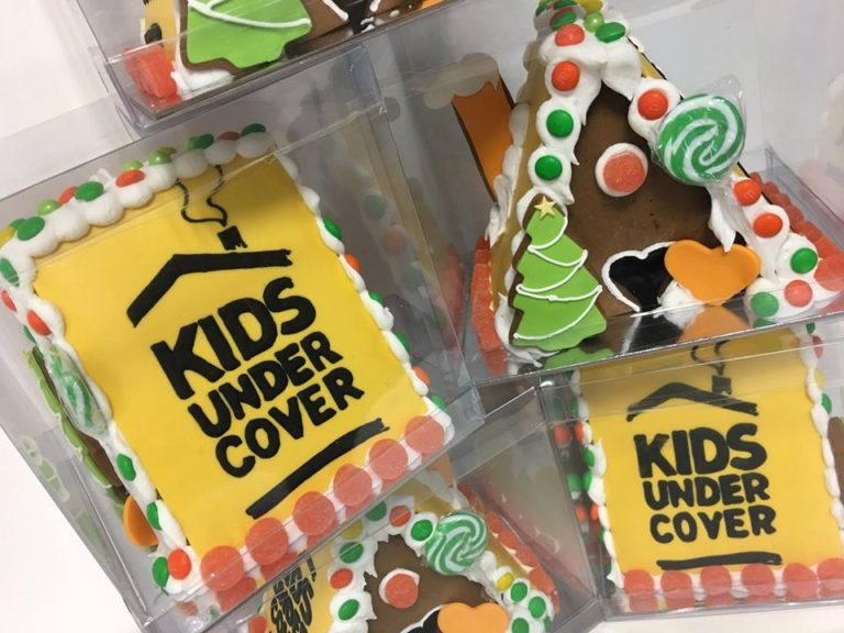 Kids Undercover Gingerbread Houses