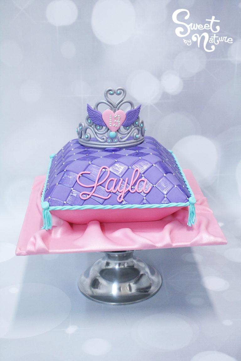 Crown Pillow Birthday Cake