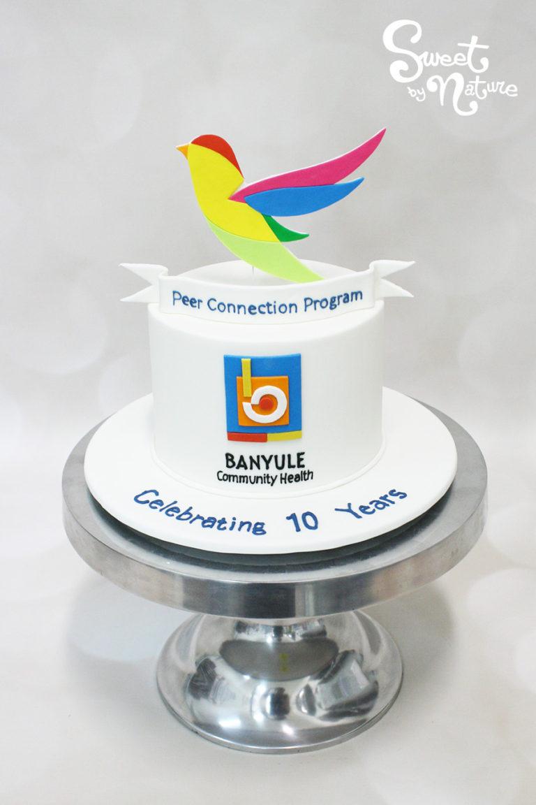 Banyule City Council Bird Logo Cake