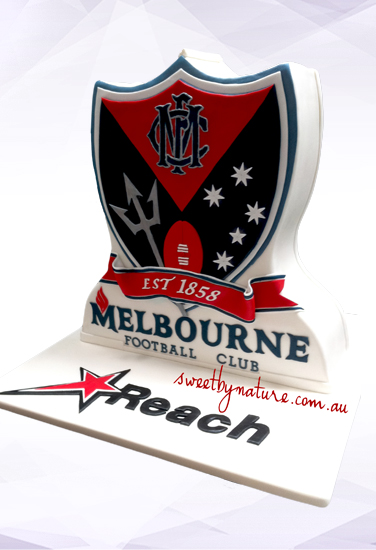 Melbourne Football Club Shield Cake