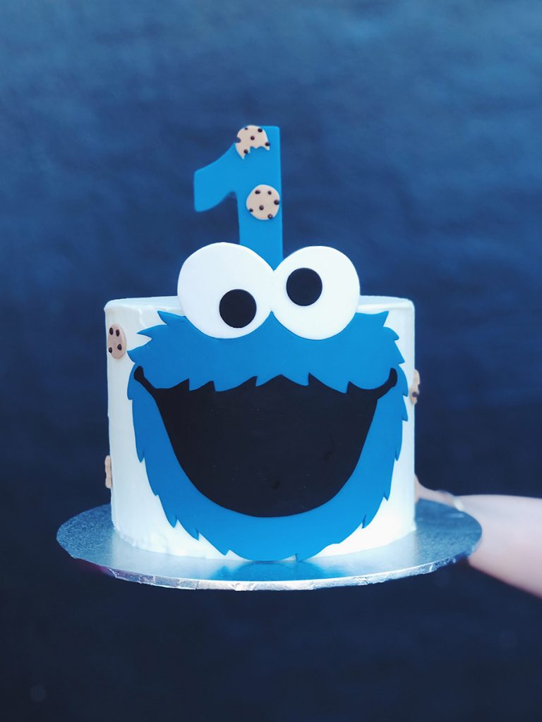 'Blue Cookies' C is for Cake